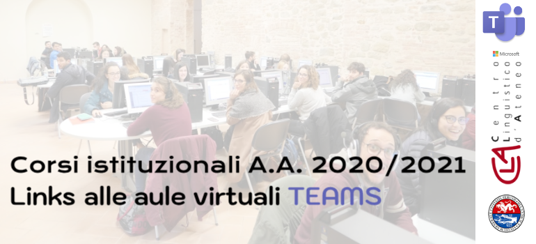 Link alle aule virtuali Teams